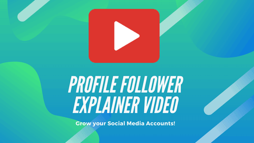 ProfileFollower Explainer Video