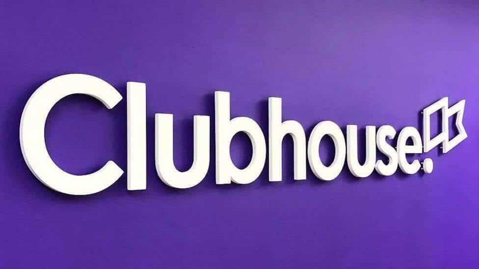 Clubhouse social media logo